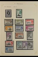 1953-1985 SUPERB NEVER HINGE MINT COLLECTION In Hingeless Mounts On Leaves, All Different, Almost COMPLETE For The Perio - Falkland Islands