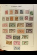 """1900-1959 COMPREHENSIVE MINT COLLECTION Just A Handful Of Spaces Seen On These Printed Pages, """"Blanc"""" & """"Mouchon"""" Types  - France"""