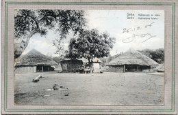 CPA - GUINEE PORTUGAISE - GEBA - Aspect Des Habitations Fulahs En 1906 - Habitacoès De Fulas - Guinea-Bissau