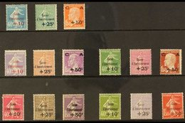 1927-31 SINKING FUND SETS. A Mint Collection Of Five Sets Including The 1927 Set (Yv 246/48, SG 460/62), 1928 Set (Yv 24 - France