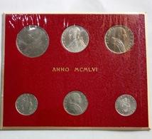 VATICANO (1956 - ANNO XVIII°) - SET Di 6 VALORI - PIO XII - FDC - Vaticano