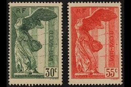 1937 National Museums Complete Set (SG 586/87, Yvert 354/55), Never Hinged Mint, Fresh. (2 Stamps) For More Images, Plea - France