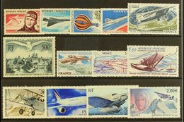 1947/2005 Group Of Airmail Issues, Incl. 1947 500f U.P.U. Issue, Yvert 20, 34, 43, 45, 49/51, 54, 56, 62/4, 68, All Neve - France