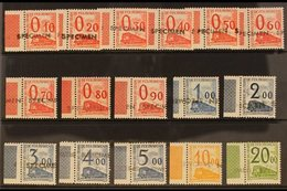 """PARCEL POST (PETITS COLIS) 1960 Set Complete From 10c To 20fr Overprinted With """"SPECIMEN"""" Handstamps, Never Hinged Mint  - France"""