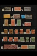 RAILWAY PARCEL POST STAMPS (COLIS POSTEAUX) 1918-45 All Different Mint Collection, With Many That Are Never Hinged, And  - France