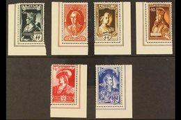 FLEMISH LEGION 1943 Emperors Local Private Issue Complete Set (Michel IX/XIV, COB E38/43), Fine Never Hinged Mint Corner - Germany