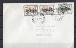 Saint-Marin: 736 Et 737 Sur Lettre Pour La Belgique - Lettres & Documents