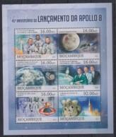 U276. Mozambique - MNH - 2013 - Space - Apollo 8 - Autres