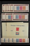 1850's-1950's INTERESTING MINT & USED ASSEMBLY In A Stockbook & On Leaves, Includes 1872 Small Shields To 5g And To 7k U - Germany