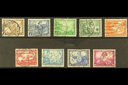 1933 Wagner Complete Set (Michel 499/507, SG 513/21), Fine Used, Fresh. (9 Stamps) For More Images, Please Visit Http:// - Germany