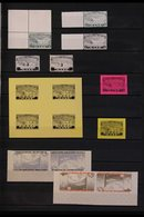 ROCKET POST LOCAL STAMPS 1933-1934 SUPERB MINT COLLECTION On Stock Pages, Some Stamps Are Never Hinged. Includes 1933 (3 - Germany