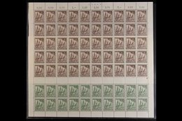 1953 Reconstruction Fund Complete Set (Michel 106/09, SG B106/09), Never Hinged Mint COMPLETE SHEETS Of 50, Very Fresh,  - [5] Berlin