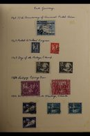 1949-1962 INTERESTING MOSTLY USED COLLECTION With Covers Housed In An Album, Includes (all Used) 1949 50pf UPU (x2) On C - [6] Democratic Republic