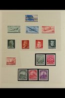 1956-1962 NEVER HINGED MINT COLLECTION In Hingeless Mounts On Album Pages, All Different And LARGELY COMPLETE For The Pe - [6] Democratic Republic