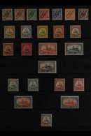 """GERMAN NEW GUINEA 1897-1918 FINE MINT COLLECTION Presented On A Stock Page Taht Includes The 1897 """"Deutsch-Neu-Guineaov - Germany"""