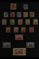 """MARSHALL ISLANDS 1899-1919 USED COLLECTION Presented On A Stock Page That Includes 1899 """"Marschall Inseln"""" Overprinted 1 - Germany"""