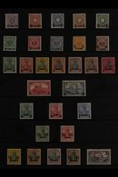 POST OFFICES IN TURKEY 1884-1908 MINT COLLECTION Presented On Stock Pages That Includes The 1884 Empire Issues Surcharge - Germany