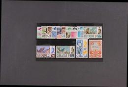 1960-62 Definitives Complete Set, SG 160/73, Never Hinged Mint. (14 Stamps) For More Images, Please Visit Http://www.san - Gibraltar