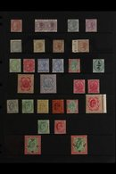 1854-1936 OLD TIME MINT COLLECTION Presented On Stock Pages That Includes A QV Range To 1r X2 Different, 2r & 5r, KEVII  - India