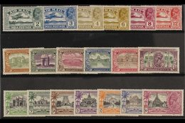 1929-35 COMMEMORATIVE SETS. A Trio Of KGV Sets On A Stock Card That Includes The 1929 Air Set,1931 New Delhi Set & 1935 - India