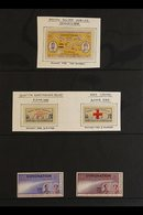 1935 - 1937 ROCKET POST VIGNETTES. A Lovely Group Of 5 Items, Namely The 1935 (23 March) Silver Jubilee Label; 1935 (6 J - India