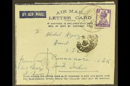 USED IN IRAQ 1942 (27 May) Air Letter With India 3a Stamp Tied FPO No. 102 Of 27th May 1942 (Mosul) Cds Pmk, Variously C - India