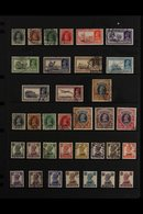 JIND 1937-43 KGVI FINE USED COLLECTION Presented On A Stock Page That Includes 1937-8 Overprinted Definitives Set To 1r, - India