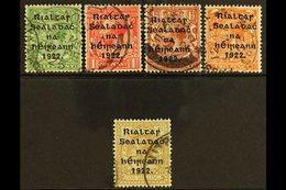 1922 Thom Wide Setting Set, SG 47/51, Fine Cds Used. (5) For More Images, Please Visit Http://www.sandafayre.com/itemdet - Ireland