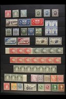 1922-50 MINT / NHM COLLECTION BIT OF AN ODD RANGE OF ISSUES - Includes 1922-34 Ireland Definitives With Coil Stamps 1d P - Ireland