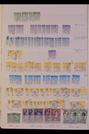 1922-97 HUGE HOARD MINT & USED COLLECTIONS & ACCUMULATIONS In FIVE VOLUMES And On Stock Pages Witha Mass Of Used Issues - Ireland