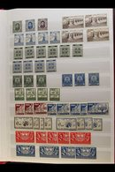 1929-90 MINT / NEVER HINGED MINT STOCK In A Stock Book, Earlier Period To 1950s Mint With Some Duplication, Later Issues - Ireland
