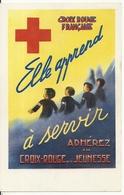 ELLE APPREND A SERVIR. CARTE D' ADHESION - Croix-Rouge