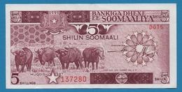 SOMALIA 5 Shilin Soomaali1987# D015 137280 P# 31c - Somalië