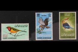 1964 AIR BIRDS Complete Set, SG 627/29, Never Hinged Mint (3 Stamps) For More Images, Please Visit Http://www.sandafayre - Jordan