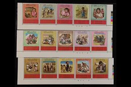 1969 'Tragedy Of The Refugees' And 'Tragedy In The Holy Lands' Complete Sets, SG 853/82 & 883/912, Superb Never Hinged M - Jordan