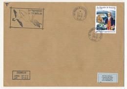 TAAF - Enveloppe Affr. 2,40E Chevalier De Tromelin - Ile Tromelin - Iles Eparses 22-5-2013 + Vaguemestre Tromelin - Franse Zuidelijke En Antarctische Gebieden (TAAF)