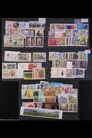 1995-2013 SUPERB NEVER HINGED MINT COLLECTION Mostly As Year Sets Or Year Packs, All Different, Highly Complete (less 20 - Liechtenstein