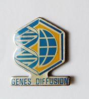 Pin's Informatique Video TV - Genes Diffusion - Informatique