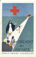 RAPATRIEMENT DES ENFANTS. CARTE D' ADHESION - Croix-Rouge