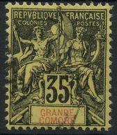 Grande Comore (1897) N 17 (o) - Usati