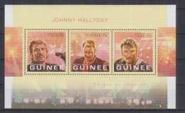 V280. Guinee - MNH - 2013 - Famous People - Johnny Hallyday - Célébrités