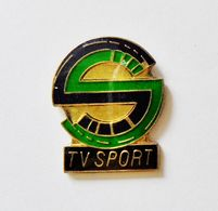 Pin's Informatique Video TV - TV SPORT - Informatique
