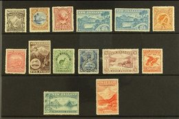 1898 Pictorials Perf 12 To 16 Complete Set Inc Both Types Of 2½d, SG 246/59, Very Fine Mint, All With Nice Centering & V - New Zealand