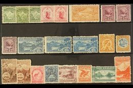 1902-07 MINT WATERMARKED COLLECTION. An Attractive, Fine Mint Selection , All With Original Gum, Neatly Presented On A S - New Zealand