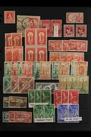 1929-94 HEALTH STAMPS A Fine Used, Lightly Duplicated Range With Many Complete Set Presented On A Series Of Stock Pages. - New Zealand