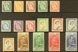 1953 Definitive Set, SG 723/36, Never Hinged Mint (16 Stamps) For More Images, Please Visit Http://www.sandafayre.com/it - New Zealand