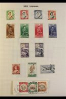 """1953-2002 ALL DIFFERENT FINE USED COLLECTION A Clean And Attractive Collection Nicely Presented In A """"Devon"""" Album With  - New Zealand"""