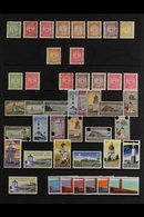 LIFE INSURANCE DEPARTMENT 1913-81 MINT COLLECTION Presented On A Stock Page That Includes 1913-37 De La Rue Set Of All V - New Zealand