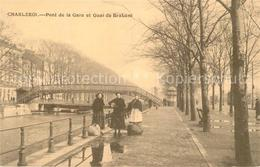 43499069 Charleroi Pont De La Gare Et Quai De Brabant Charleroi - Chimay