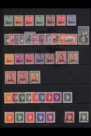 OFFICIALS 1938-61 COMPLETE MINT COLLECTION Presented On A Protective Stock Page & Includes Some Additional Listed Variet - New Zealand